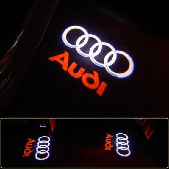 Luz Led De Puertas Audi Varios C/logo (par)