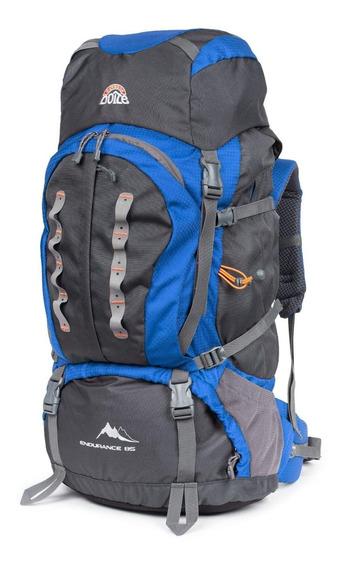 Mochila Camping Endurance 85 Azul Doite