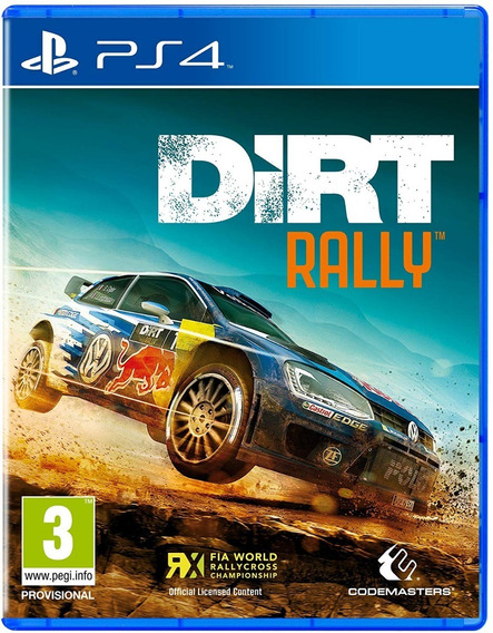 Dirt Rally Ps4 Original Digital Psn