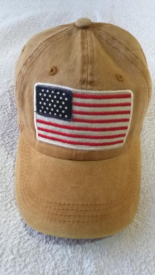 Cap Gorra Usa Flag America Vintage Gastada Importada