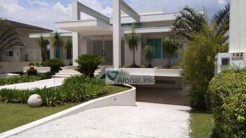 Imagem 1 de 30 de Casa Com 4 Dormitórios À Venda, 1200 M² Por R$ 7.500.000,00 - Alphaville - Santana De Parnaíba/sp - Ca0935
