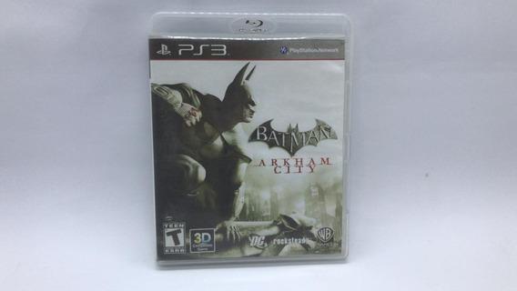 Batman Arkham City - Ps3 - Midia Fisica Em Cd