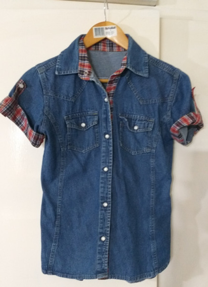 Camisa De Jeans Mujer Impecable T M
