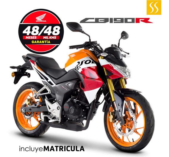 Moto Honda Repsol Cbr190r Inyección Electrónica + Matricula