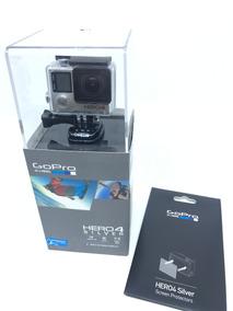 Gopro Hero4 Silver + Película + Completa! Na Caixa! Perfeita