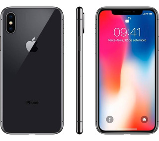Apple iPhone X 256gb, Cinza Espacial, Semi Novo, Anatel