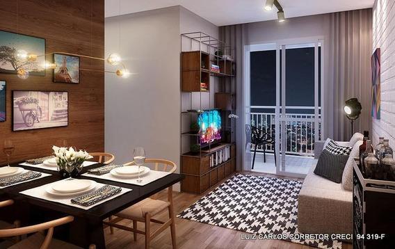 Apartamento Com 2 Dormitórios À Venda, 47 M² Por R$ 245.000,00 - Jardim Monte Alegre - Taboão Da Serra/sp - Ap0003