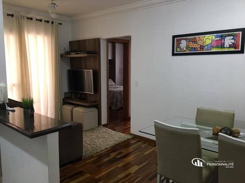 Apartamento Com 2 Dormitórios À Venda, 55 M² Por R$ 295.000,00 - Vila Gonçalves - São Bernardo Do Campo/sp - Ap0488