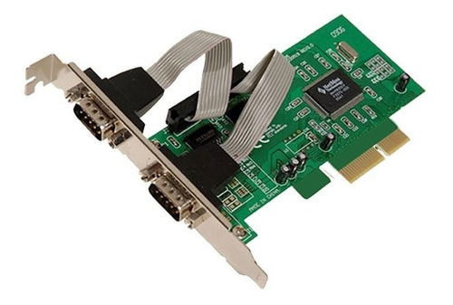 Placa Serial Noganet Pci Express 2 Serie Win Compatible
