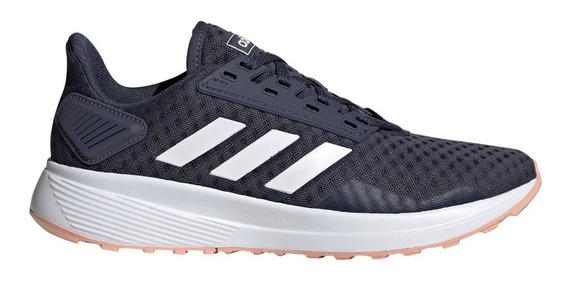 Zapatillas adidas Duramo 9 Gri Oscuro/blanc/ros De Mujer