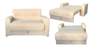 Sofa Cama 2 Cuerpos Bi Cama Chenille Nuevo Envio Gratis
