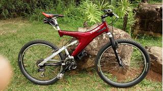 Bike Mtb Trek Full Y22, Quadro Carbono, Made In Usa Shimano