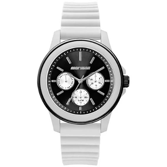Relógio Mormaii Maui Luau Feminino Branco Preto Original