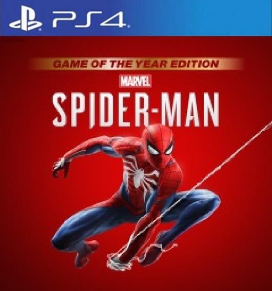 Spider-man Game Of The Year Edition I Ps4 1 I Português