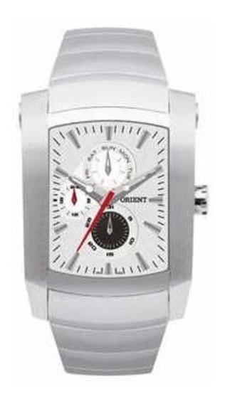 Relógio Orient Gbssm002 Analógico Masculino Cinza-claro Cinz
