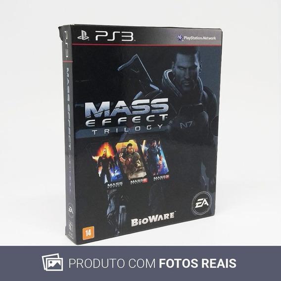 Mass Effect Trilogy Ps3 Mídia Física Pronta Entrega