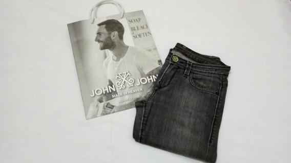 Calça Jeans John John Tam.38 Strecht Skinny Bomestado Sacola