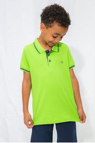 Camisas Polo Infantis Ogochi Cores Diversas