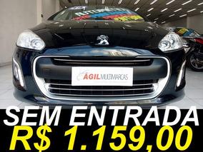 Peugeot 308 2.0 Allure Flex Aut. Único Dono 2014 Preto