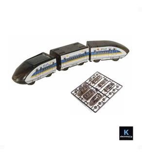 Juguete Tren Bala Solar Armable / K