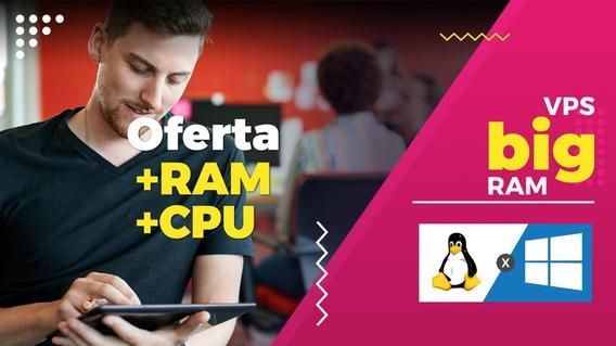 Promoção Vps Xeon 4ghz 16gb Ram Windows/linux Ssd