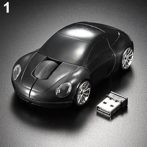 Acessórios De Computador Preto Corrida Carro Em Forma 2.4ghz