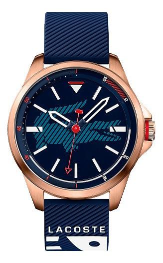 Relógio Masc. Lacoste Borracha Azul 46mm