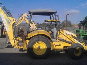Retro Excavadoras New Holland Y John Deere. Jumbo Cat E70b