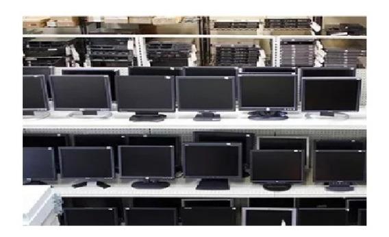 Monitor Lcd 15.6 Varias Marcas Semi-novos Testados Garantia