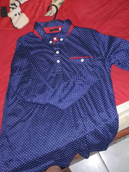 Camisa Social- Tamanho M-produto Novo.