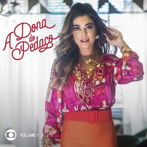 Cd A Dona Do Pedaço - Trilha Sonora Da Novela Das 9 Vol 1