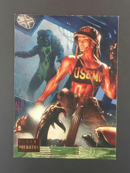Trading Card Alien Vs Predator Universe #46 Topps Germanes
