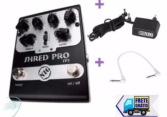 Pedal Nig Shred Pro Sp1+ Fonte Nig Nf61+cabo