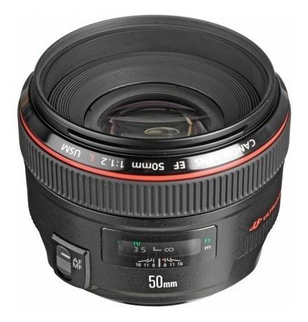 Lente Canon Ef 50mm F/1.2 Usm