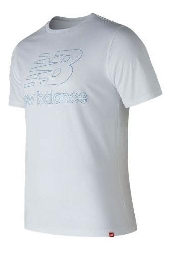 Remera New Balance Hombre Essentials Landing Tee Mt81559