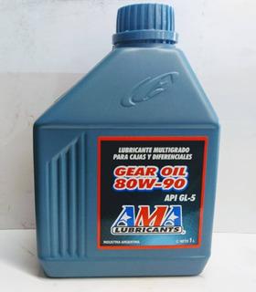 Aceite Motor Gearl Oil 80w90 1l Ama