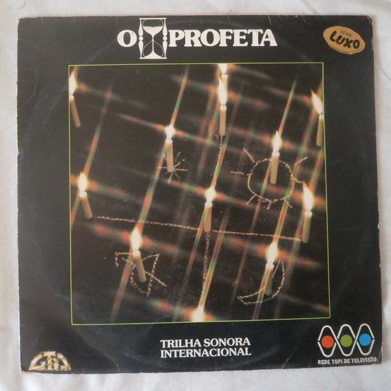 Lp O Profeta 1977, Vinil Trilha Internacional Novela Tv Tupi