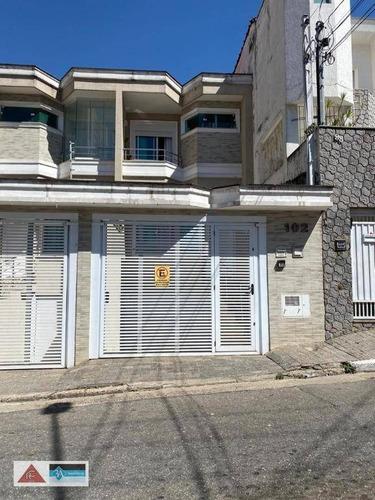 Imagem 1 de 9 de Sobrado Novo  3 Suites No Tatuapé - Ca0479