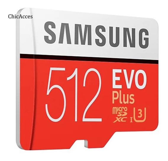 Cartão De Memória Samsung Evo Plus 512 Gb