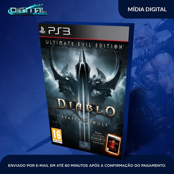 Diablo Iii Reaper Of Souls Ps3 Game Digital Envio Agora.