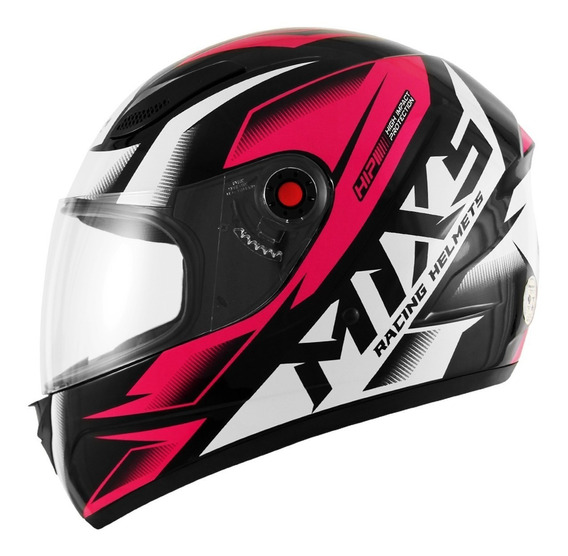 Capacete Masculino Moto Mixs Fokker Storm