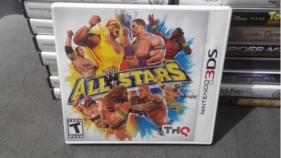 Wwe All Stars Nintendo 3ds Original Completo