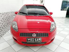Fiat Punto Attractive Italia 1.4 Flex 2012 Vermelho