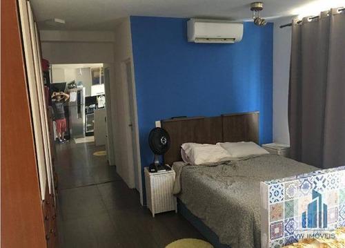 Studio Com 1 Dormitório À Venda, 36 M² Por R$ 247.000,00 - Vila Augusta - Guarulhos/sp - St0001