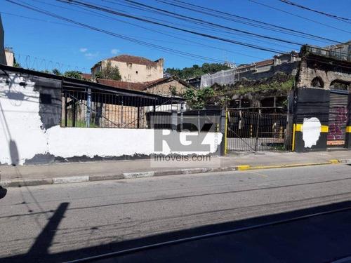 Imagem 1 de 3 de Terreno À Venda, 1100 M² Por R$ 3.500.000,00 - Centro - Santos/sp - Te0126