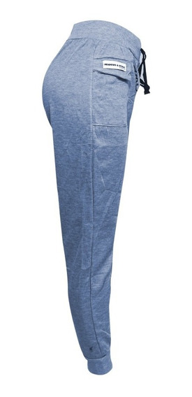 Jogger Pants Para Dama Moda Juvenil Gris Oxford