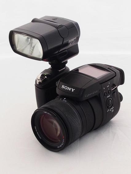 Retirar Df: Camera Sony Dsc R1 Carl Zeiss 24-120mm & Caixa