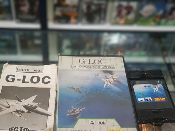 G Loc Usada Manuais Estojo Originais Game Gear Tec Toy
