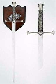 Espada Game Of Thrones Medieval Stark + Suporte