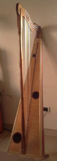 Arpa Llanera -cedro Y Nylon-